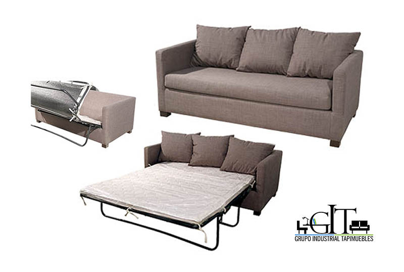 Sofa camas sof cama tibet king size thesofa - Sofa cama madrid ...