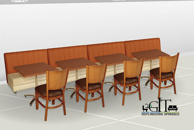 Muebles para restaurantes bares discotecas tapimuebles for Muebles para resto bar
